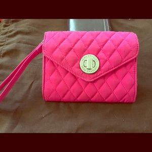 Hot pink Vera Bradley wallet